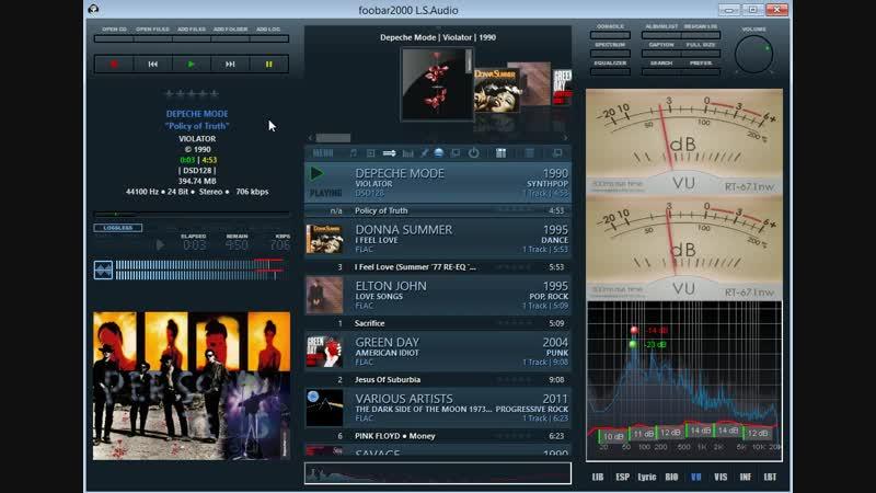 Foobar2000 v1.4.1 DarkOne сборка от L.S.Audio_015