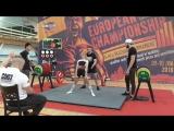 Дегтярева Юлия становая тяга ДК 140 кг