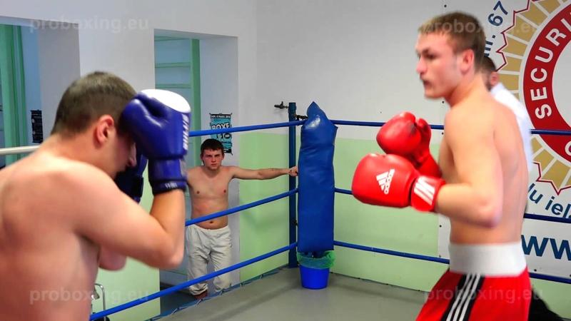 29.01.2015 Raimonds Sniedze (LAT) VS Edgars Milevičs (LAT) proboxing.eu
