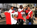 Fans singing on World Cup in Russia. Uruguay, Egypt, Peru, Marocco, Brazil. Фанаты поют на ЧМ-2018