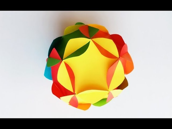 ABC TV | How To Make 3D Ball Paper Flower - Craft Tutorial