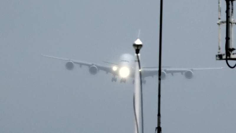 Trial by turbulence A380 thrown around but gets through