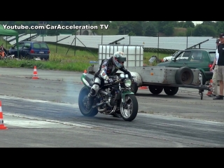Suzuki Turbo Acceleration 1_4 Mile Race