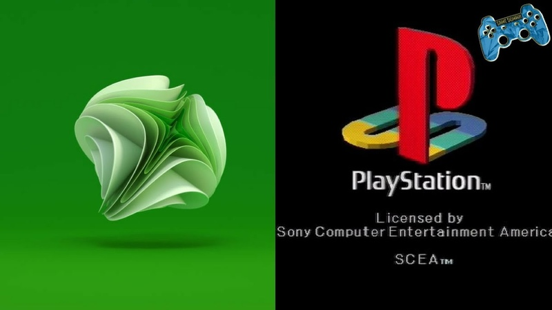 All Xbox and PlayStation Startups (Including Unused Brand ID)
