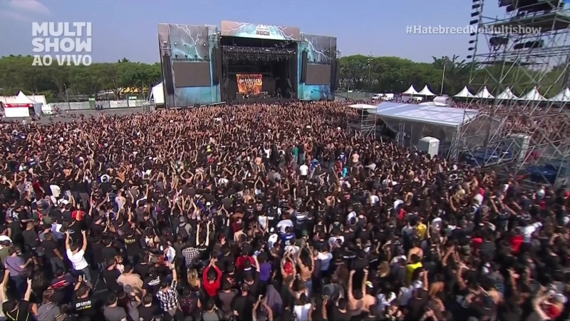Hatebreed - Live at Monsters of Rock festival (Anhembi arena,Sao Paulo,Brazil,19.10.2013)