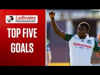 Tavernier Free kick and Burkes equaliser! _ Top Five Goals (Week 6) _ Ladbrokes