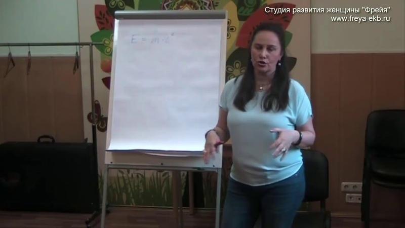 Понимание того, что есть энергия Отрывок из мастер класс Марины Шаламовой