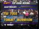 Томми Моррисон vs Туя Тоя полный бой 20 02 1994