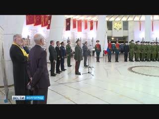 Пятнадцать волгоградских призывников отправились служить в Президентский полк