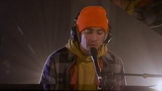 Tyler from Twenty One Pilots - Neon Gravestones in the Live Lounge