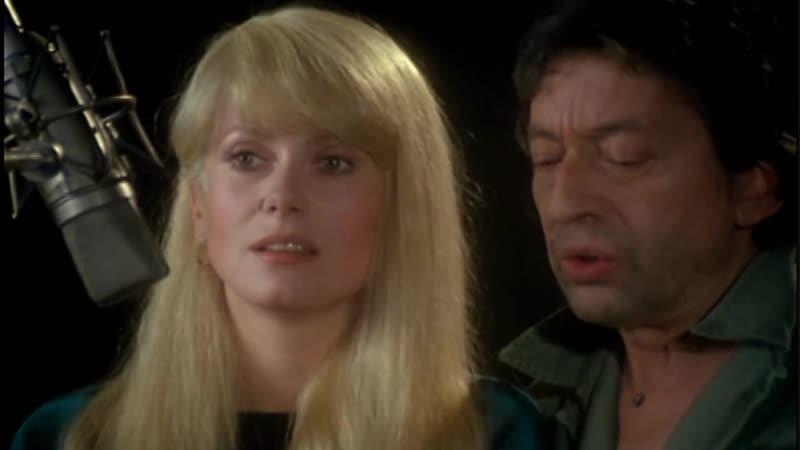 Catherine Deneuve et Serge Gainsbourg Dieu est un fumeur de havanes) Музыкальный эпизод с ХФ Я вас люблю Je vous aime,1980