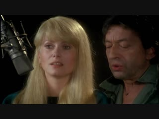 Catherine Deneuve et Serge Gainsbourg