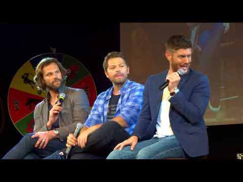 Jensen and misha panel bonus Jared closing ceremony - jibcon9 (part3)