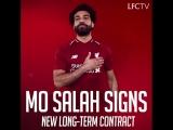Мохаммед Салах подписал новый контракт