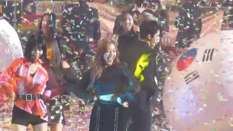 180323 ALL ARTISTS (B.A.P) - Gangnam Style - MUSIC BANK IN CHILE