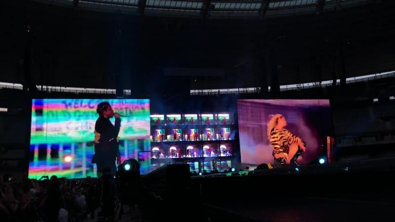 Jay Z Beyoncé - Baby Boy/ Mi Gente/ Bam/ Hold Up/ Countdown (Paris • On The Run II Tour)