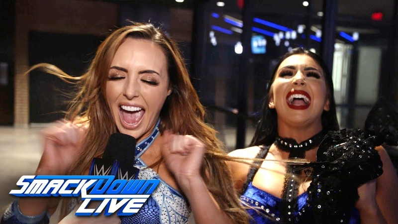 Video@kayroyce | The IIconics celebrate their huge victory: SmackDown Exclusive, March 19, 2019
