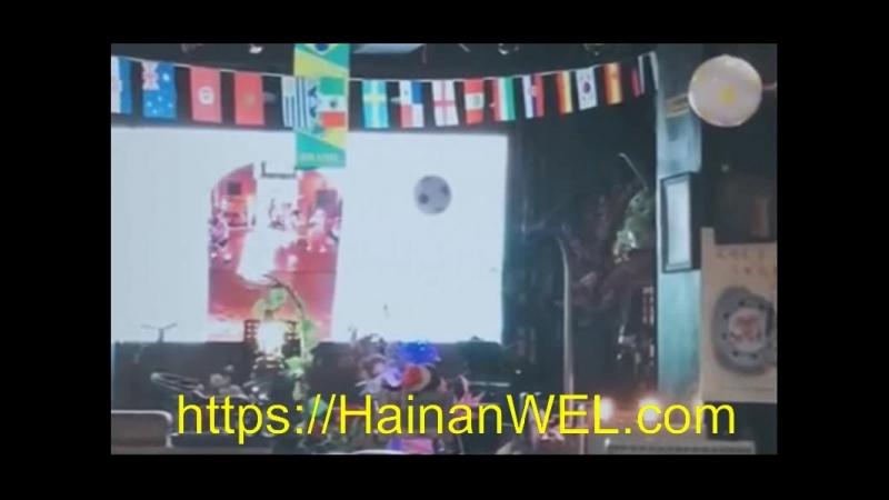 Арт-кафе и ресторан в Санья, остров Хайнань, Китай -экскурсия на видео