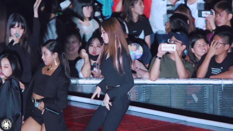 [4K] 180901 씨엘씨 권은빈 직캠 블랙드레스(BLACK DRESS) CLC Fancam @2018 인천 K-POP 콘서트 인천문학경기장 By 벤뎅이