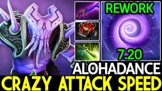ALOHADANCE [Faceless Void] Crazy Attack Speed Time Lock New Rework 7.20 Dota 2