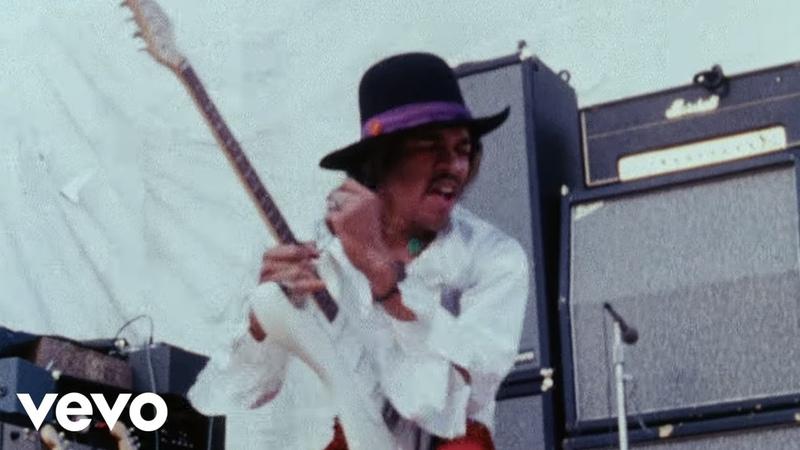 The Jimi Hendrix Experience Foxey Lady Miami Pop 1968