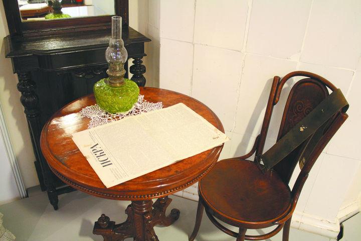 В краеведческом музее открыли выставку к 100-летию октябрьского восстания