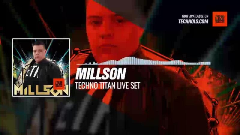 Techno music with @millsonofficial - Techno Titan Live Set Periscope