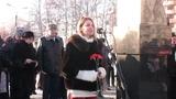 Наталья Поклонская на торжественном открытии памятника конструктору-оружейнику Н.Ф. Макарову