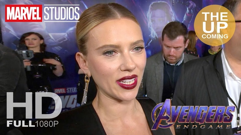 Scarlett Johansson Avengers Endgame fan event interview My characters journey echoes my own