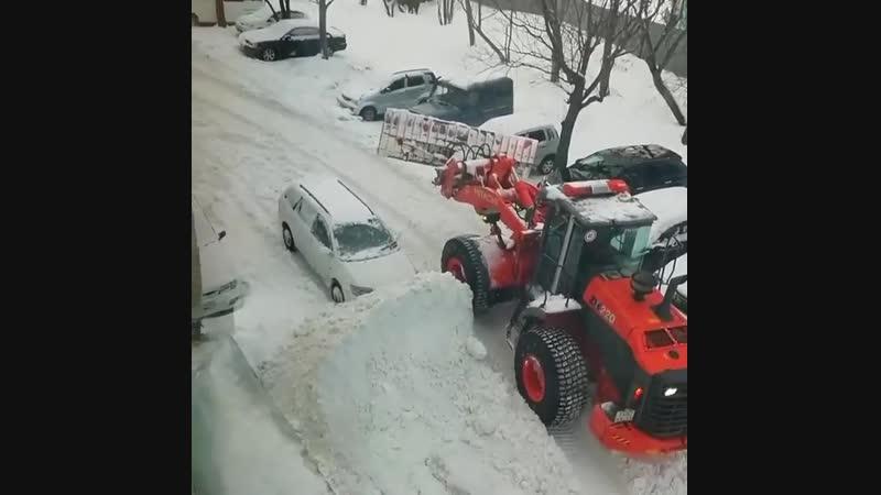Когда паркуешься как мудак