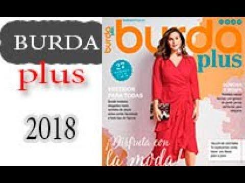 Burda Plus. Весна-лето 2018. Журнал по шитью