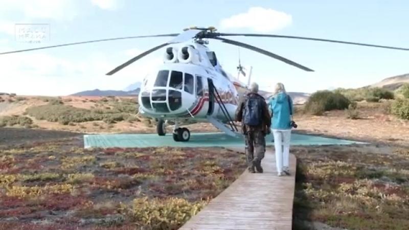 /09.04.18./ На Камчатке появится круглогодичный вертолетный маршрут для туристов ⠀ Круглогодичную экскурсию на вулкан Ксудач и Х