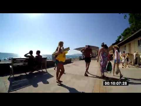 Дорога от дома до моря бонус (пляж скрытый от глаз) ул.Санаторная (ЖК Романовский) - пляж Салют