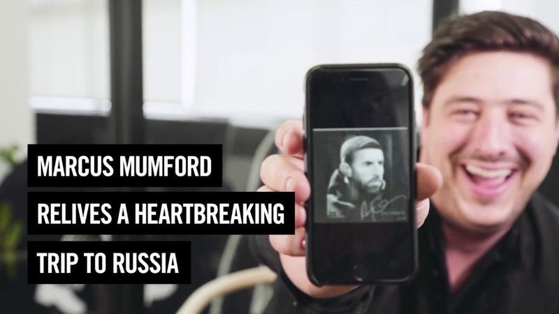 Marcus Mumford Relives A Heartbreaking Trip To Russia