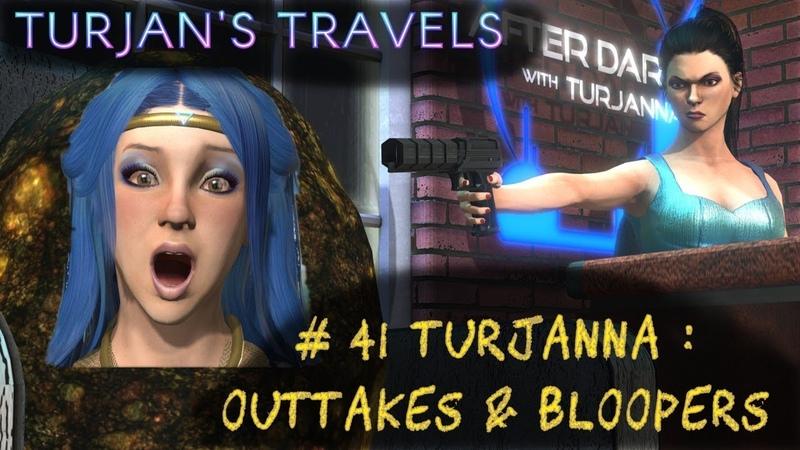 Turjan's Travels in Elite Dangerous : Outtakes Bloopers 41 Turjanna