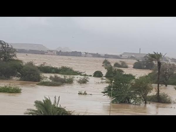 Cyclone Luban in Yemen, october 14-15, 2018 | Циклон Лубан в Йемене, 14-15.10.2018