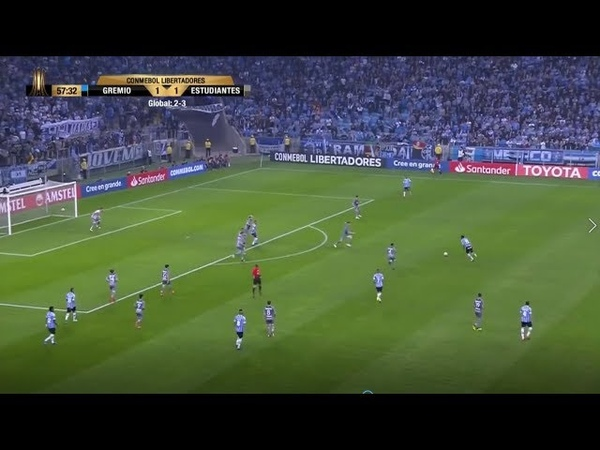 Fenerbahçe'nin yeni transferi Jailson'un son maçı | Gremio 2-1 Estudiantes | 29.8.2018