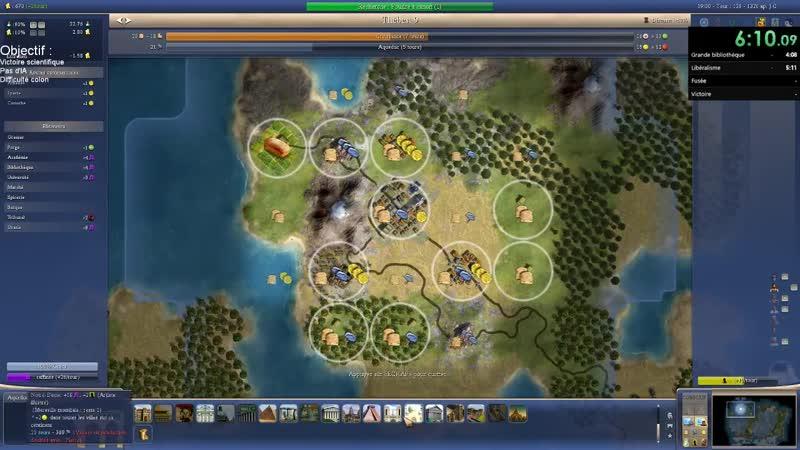 Civilization 4 - Space Race victory. Speedrun - 11-40 by Sakk