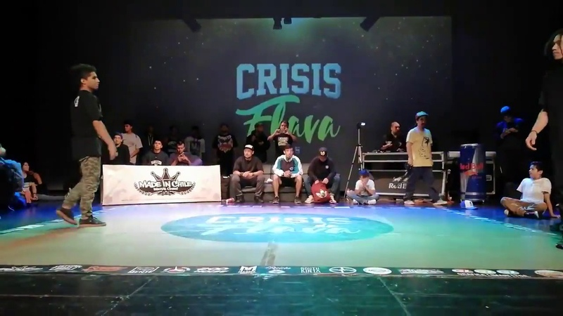 Bboy Ears Vs Bboy Bart Crisis de la Flava 2018