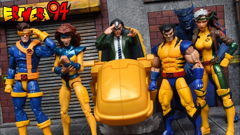 Marvel Legends PROFESSOR X HOVER CHAIR Ultimate Riders X Men Action Figure Review