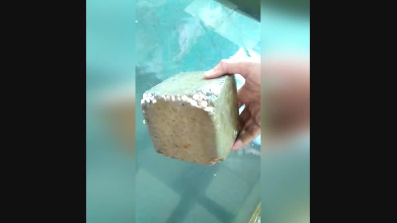 Новая технология - бетон, который не тонет