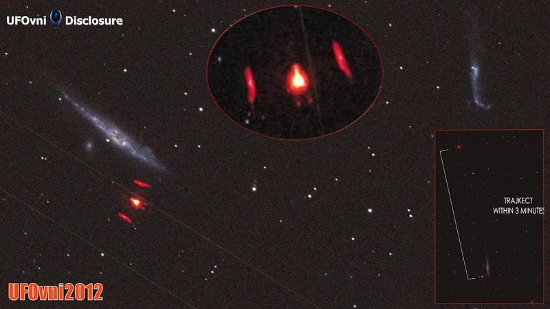 Pozorovatel oblohy z Aztéka: červené zářící UFO spatřené v Constellation Canes Venatici