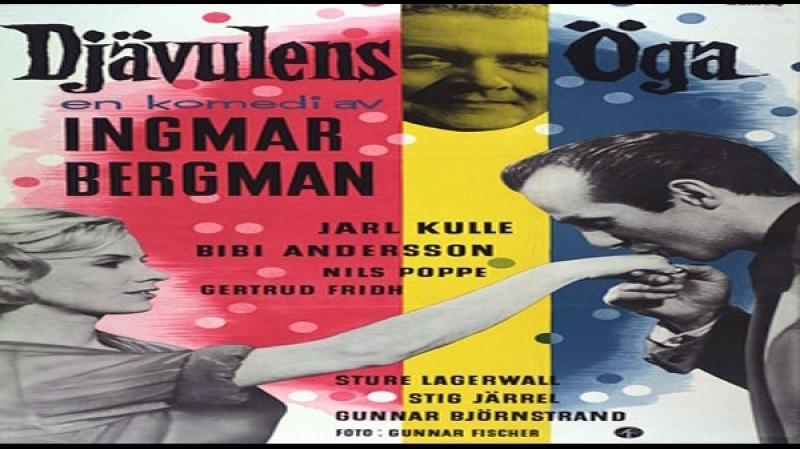 1959 Ingmar Bergman- Djävulens öga - Jarl Kulle, Bibi Andersson, Stig Järrel