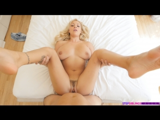 Kylie page step sister swallows warm cum (incest, blowjob, family)
