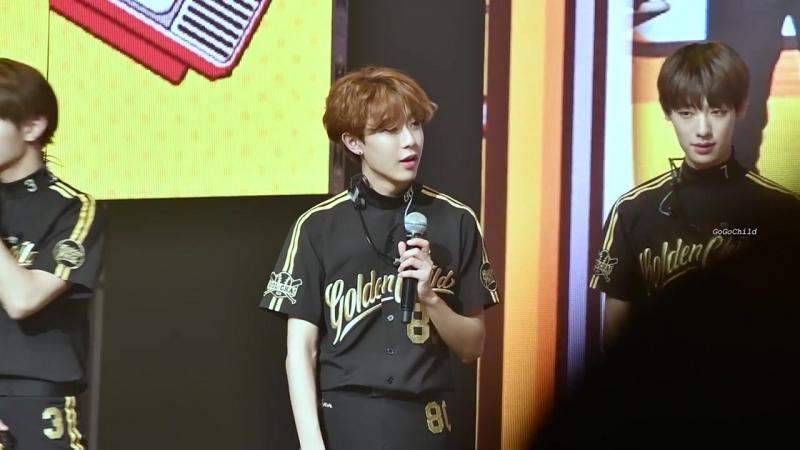 [VK][180522] Golden Child @ 1st Fanmeeting 'Golden Day'