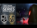 Relive the Golden Knights' series sweep of the Kings
