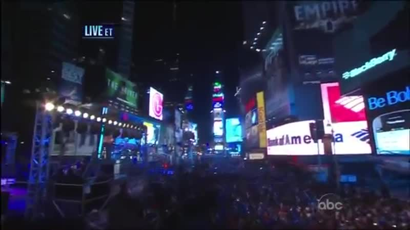 Justin Bieber Let It Be Live From Times Square - New Year039;s Eve 2011 (HD) (yt-api.com)