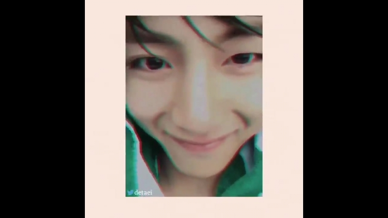 Taehyung smiling at the end of each closeup video .mp4