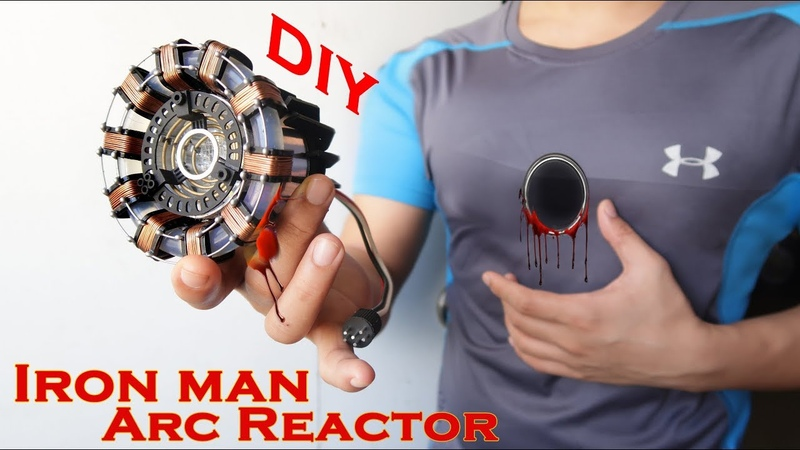 Iron Man ARC REACTOR - STUNNING Hand Craft DIY Using the most Basic materials