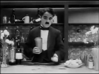 Charlie Chaplin - The Rink (1916) - Bartender